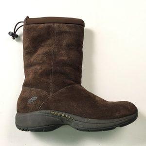 Merrell Brown Boots US 9.5 C14:x01923